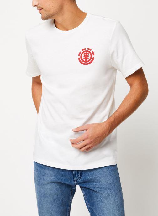 Vêtements Element Unison ss C Blanc vue détail/paire