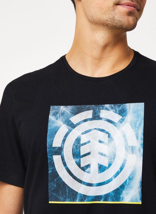 Vêtements Element Solvent Icon ss C Noir vue face