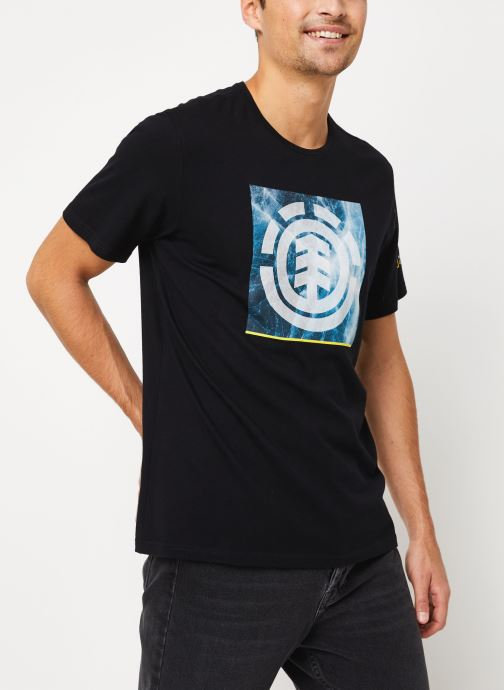 Vêtements Element Solvent Icon ss C Noir vue détail/paire