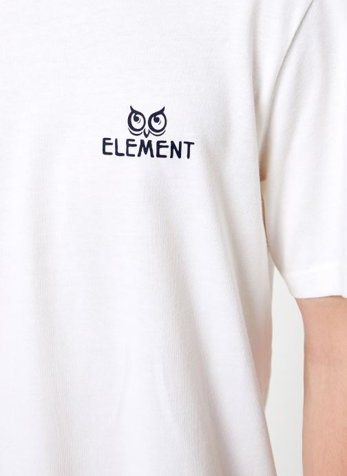 Kleding Element In The Owl ss C Wit voorkant