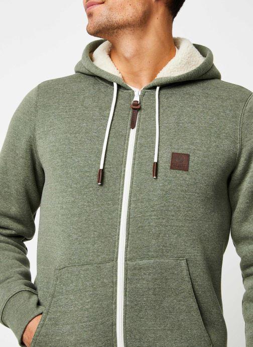 Vêtements Element Heavy zh Sherpa C Vert vue face