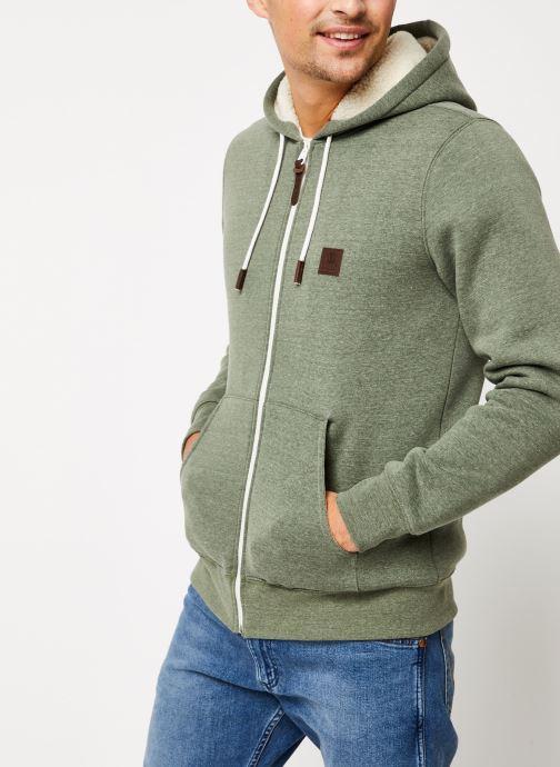Vêtements Element Heavy zh Sherpa C Vert vue droite