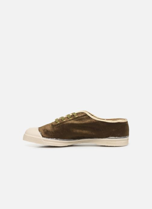 Baskets Bensimon Tennis Paula Precieuse Vert vue face