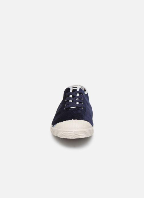 Baskets Bensimon Tennis Paula Precieuse Bleu vue portées chaussures