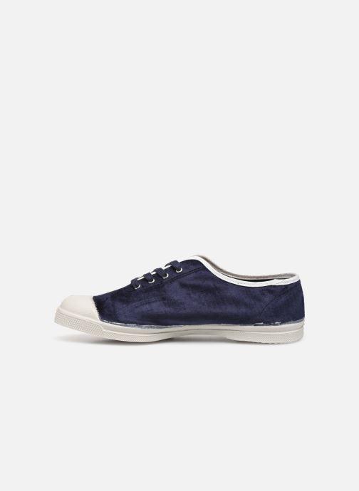 Sneakers Bensimon Tennis Paula Precieuse Blauw voorkant