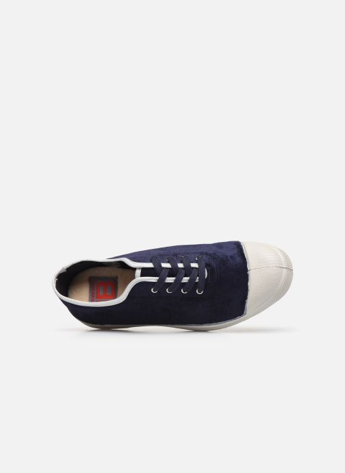Sneakers Bensimon Tennis Paula Precieuse Blauw links
