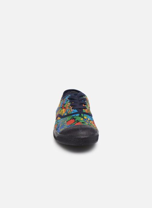 Baskets Bensimon Tennis Lacets Liberty Multicolore vue portées chaussures