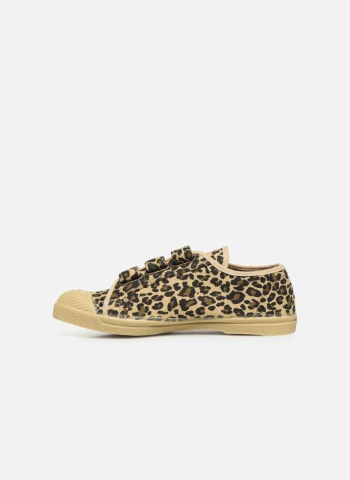 Baskets Bensimon Tennis Scratch Panther Multicolore vue face