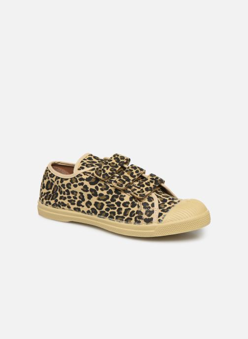 Baskets Bensimon Tennis Scratch Panther Multicolore vue détail/paire