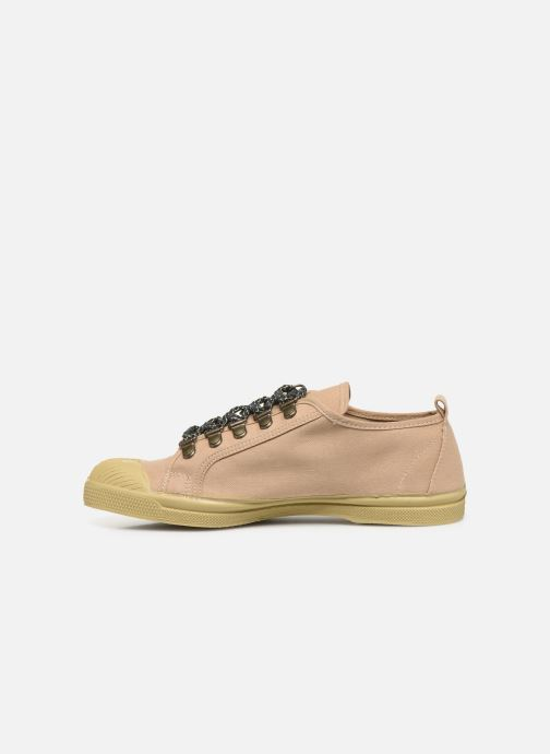 Baskets Bensimon Tennis Boucles Livy Beige vue face