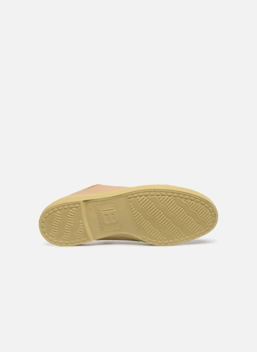 Baskets Bensimon Tennis Boucles Livy Beige vue haut