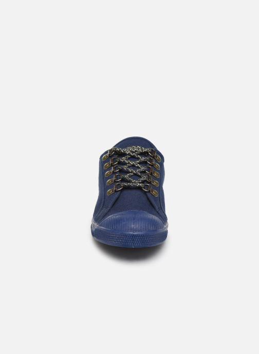 Baskets Bensimon Tennis Boucles Livy Bleu vue portées chaussures