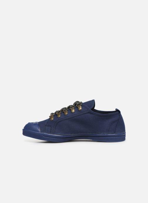 Sneakers Bensimon Tennis Boucles Livy Blauw voorkant