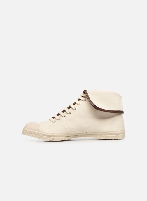 Baskets Bensimon Tennis Steffi Authentic Beige vue face