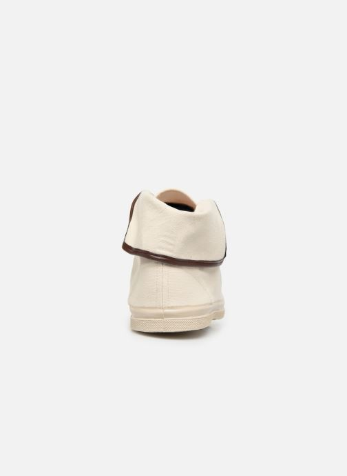 Baskets Bensimon Tennis Steffi Authentic Beige vue droite