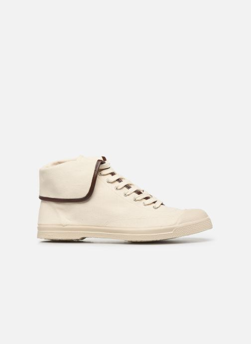 Baskets Bensimon Tennis Steffi Authentic Beige vue derrière