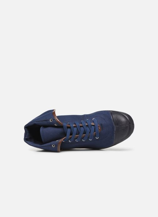 Trainers Bensimon Tennis Steffi Authentic Blue view from the left