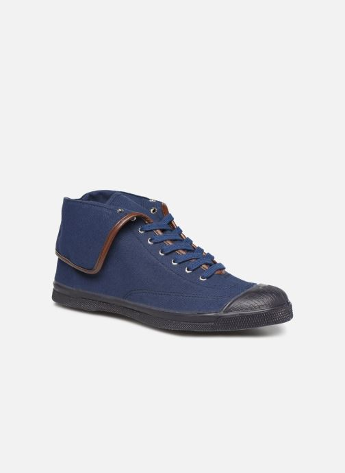 Trainers Bensimon Tennis Steffi Authentic Blue detailed view/ Pair view