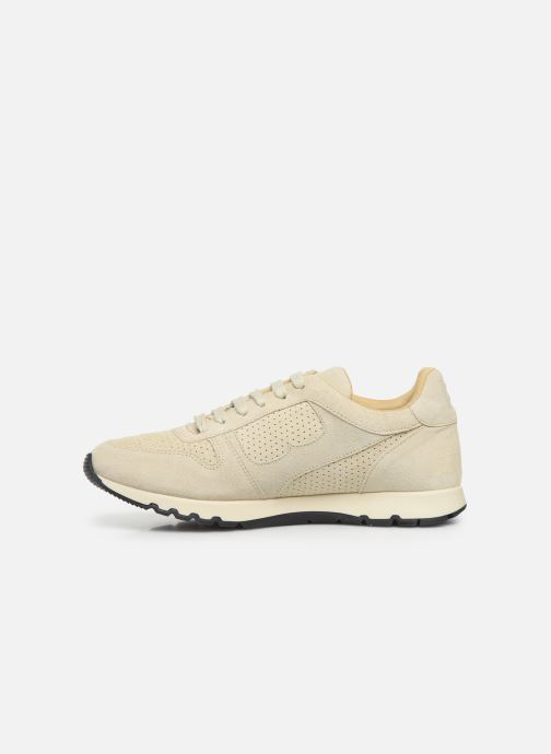 Trainers Bensimon Runnings Femme Beige front view