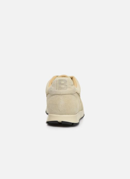 Trainers Bensimon Runnings Femme Beige view from the right