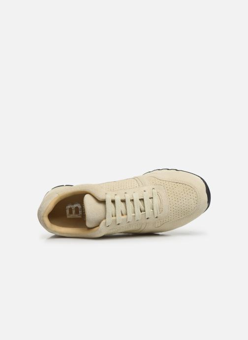 Trainers Bensimon Runnings Femme Beige view from the left