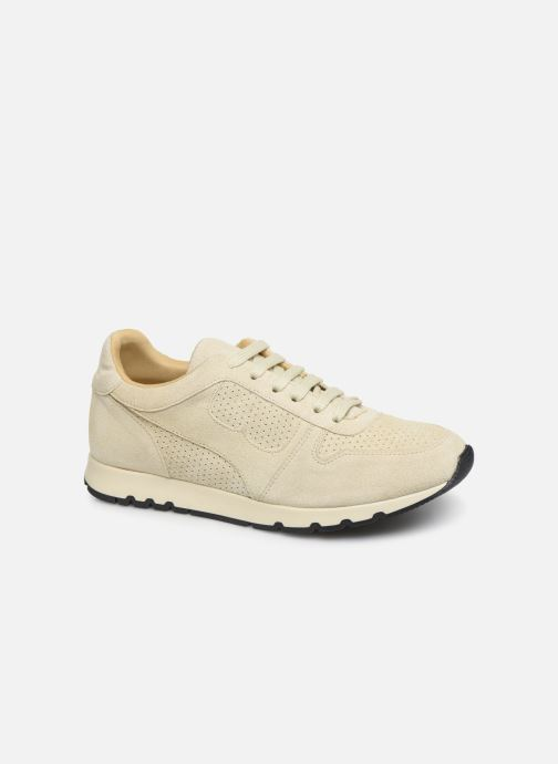 Trainers Bensimon Runnings Femme Beige detailed view/ Pair view
