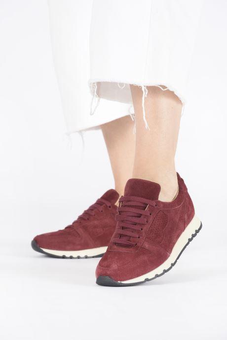 Sneakers Bensimon Runnings Femme Bordeaux onder