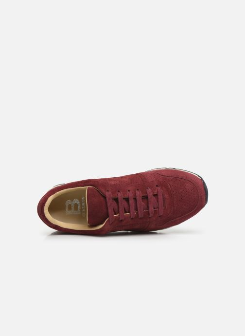 Baskets Bensimon Runnings Femme Bordeaux vue gauche
