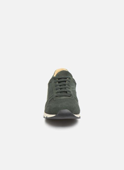 Baskets Bensimon Runnings Femme Vert vue portées chaussures