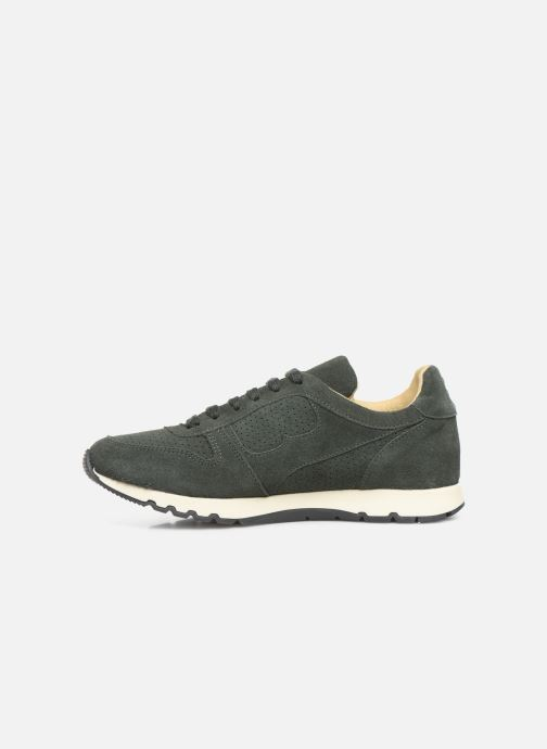 Trainers Bensimon Runnings Femme Green front view