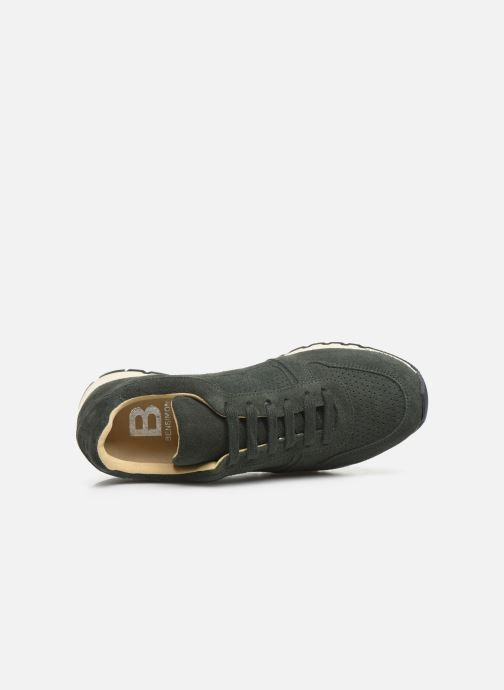 Trainers Bensimon Runnings Femme Green view from the left