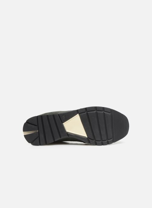 Trainers Bensimon Runnings Femme Green view from above