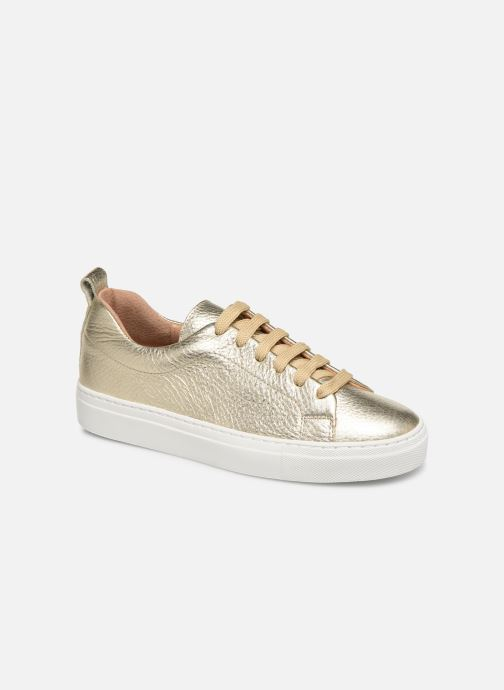 Trainers Bensimon Basket Cadeo Unie Bronze and Gold detailed view/ Pair view