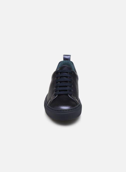 Baskets Bensimon Basket Cadeo Unie Bleu vue portées chaussures