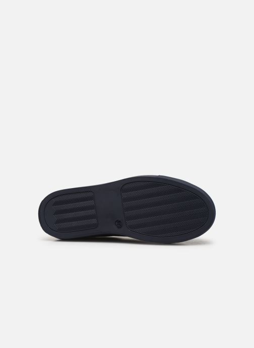 Trainers Bensimon Basket Cadeo Unie Blue view from above