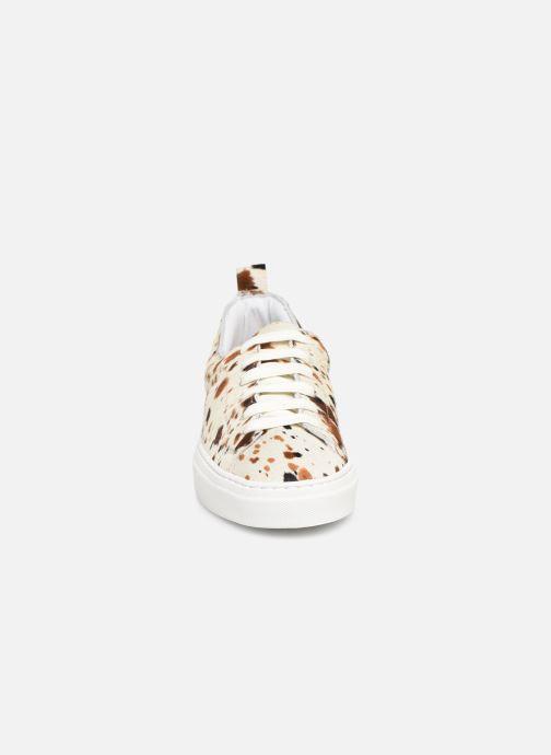 Baskets Bensimon Basket Cadeo Vachette Multicolore vue portées chaussures