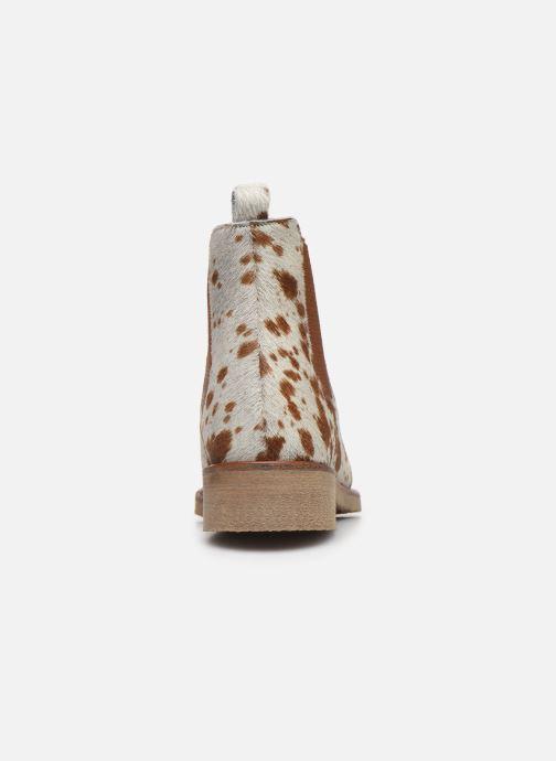 Bottines et boots Bensimon Boots Cabourg Multicolore vue droite