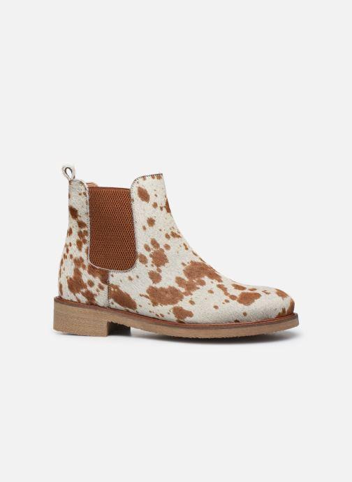 Bottines et boots Bensimon Boots Cabourg Multicolore vue derrière