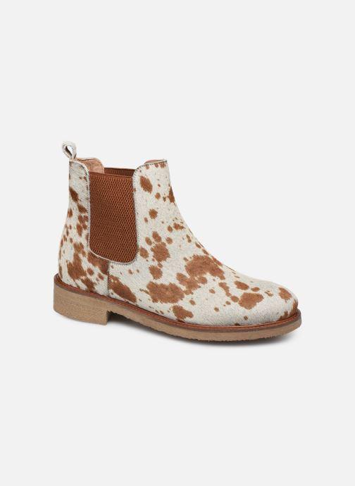 Bottines et boots Bensimon Boots Cabourg Multicolore vue détail/paire
