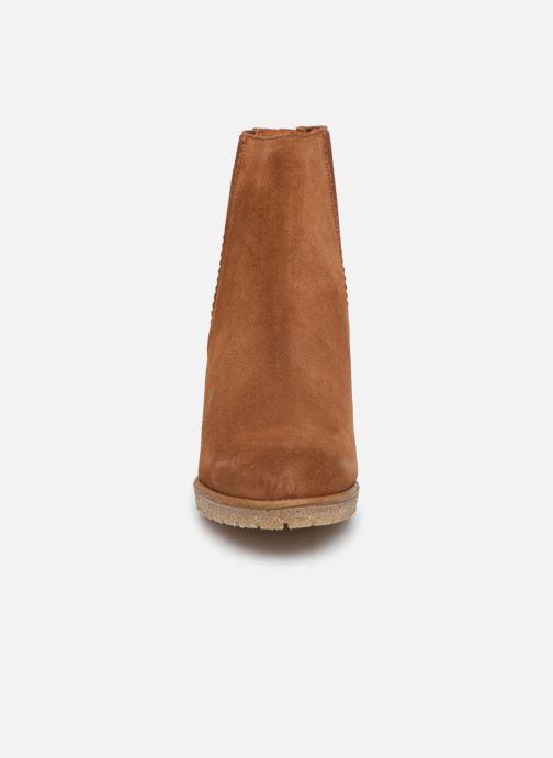 Bottines et boots Bensimon Boots Cortland Marron vue portées chaussures