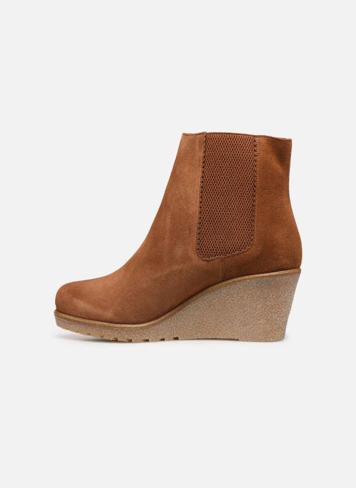 Bottines et boots Bensimon Boots Cortland Marron vue face