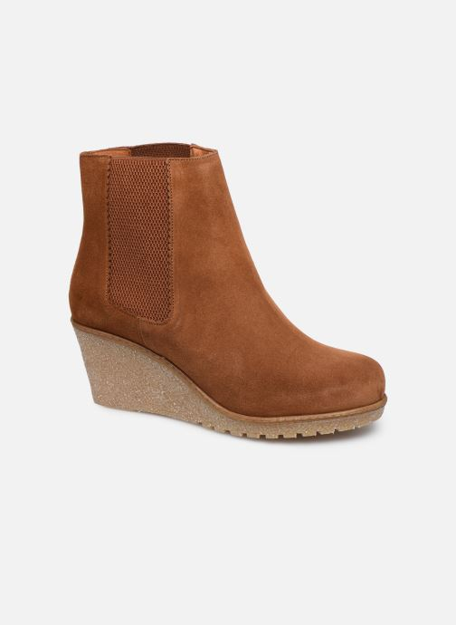 Bottines et boots Bensimon Boots Cortland Marron vue détail/paire