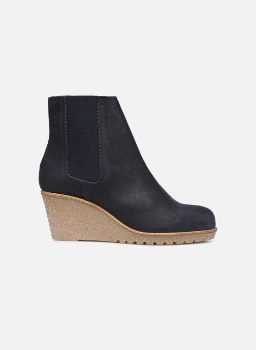 Botines  Bensimon Boots Cortland Azul vistra trasera