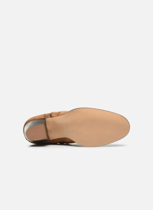 Ankle boots Bensimon Santiags Cisco Brown view from above