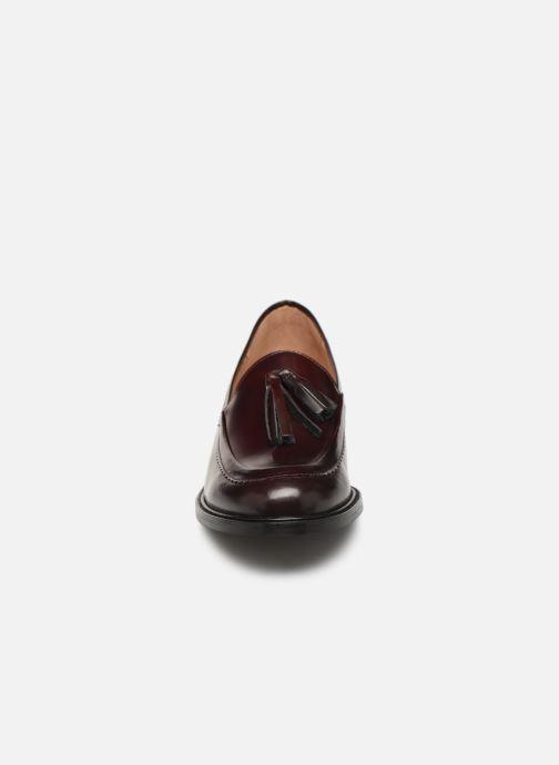 Mocassins Bensimon Mocassin Casena Bordeaux vue portées chaussures