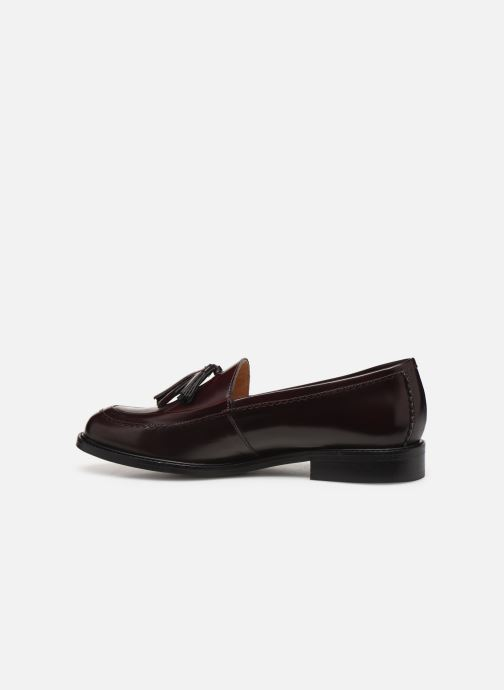 Loafers Bensimon Mocassin Casena Burgundy front view