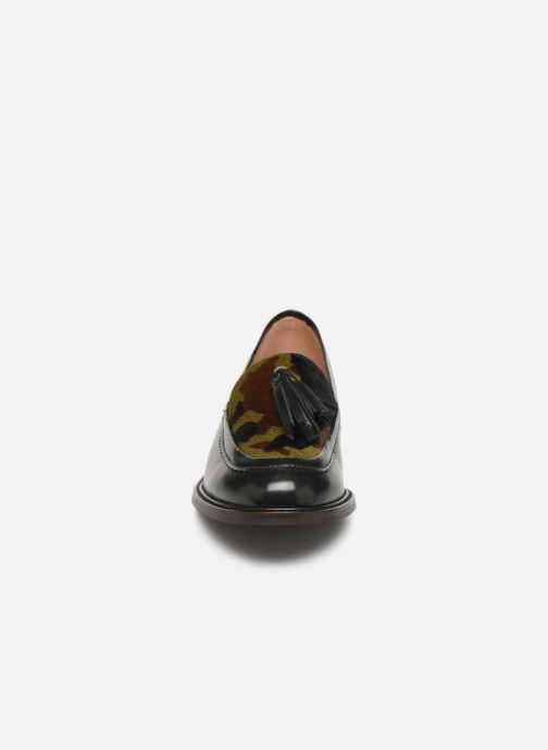 Mocassins Bensimon Mocassin Casena Vert vue portées chaussures