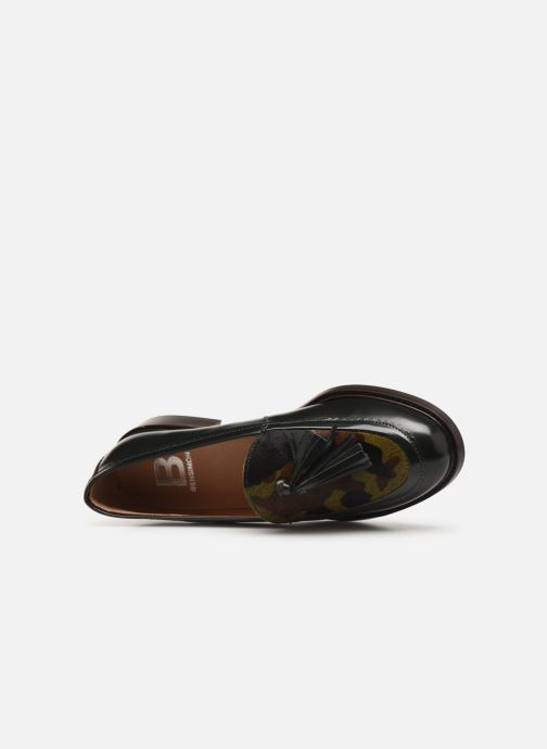 Loafers Bensimon Mocassin Casena Green view from the left