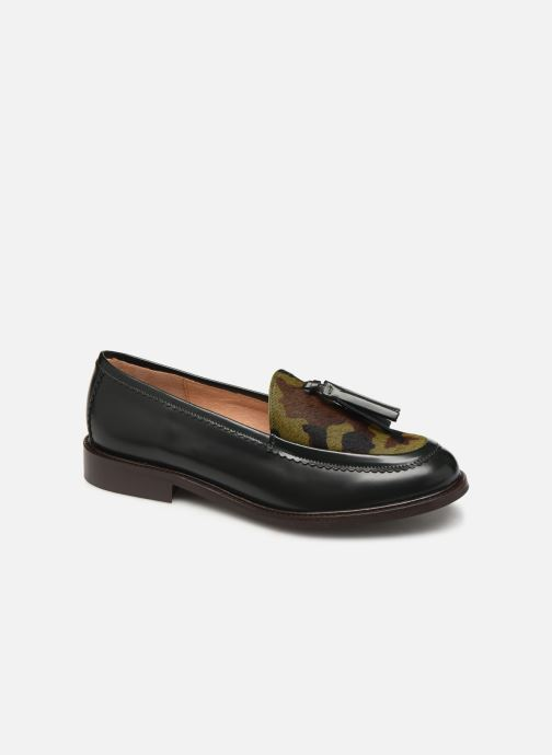 Loafers Bensimon Mocassin Casena Green detailed view/ Pair view