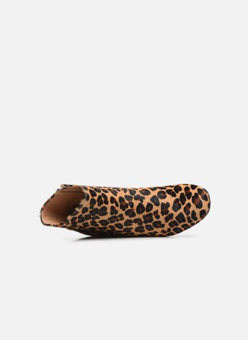 Stivaletti e tronchetti Bensimon Boots Camden Multicolore immagine sinistra